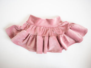 Dusty Blush Corduroy Skirt