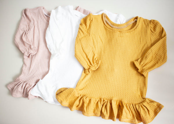 Super Soft Waffle Knit Top
