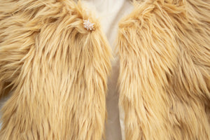 Honey Fur Coat