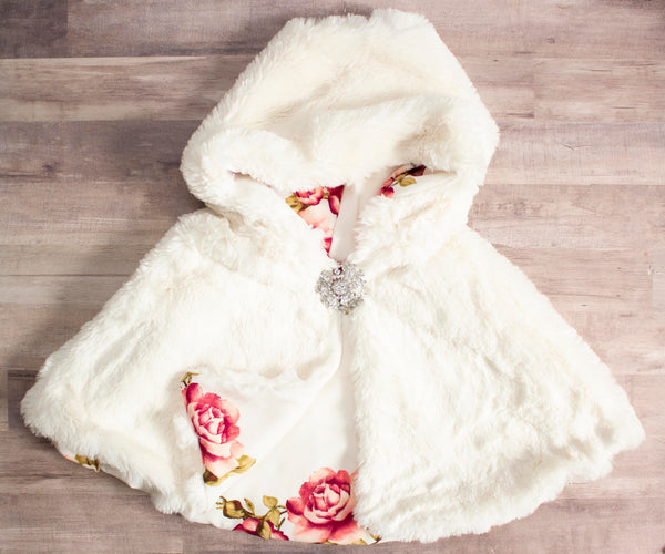 Winter Rose Cape