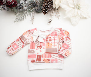 Gift Bow Long Sleeve