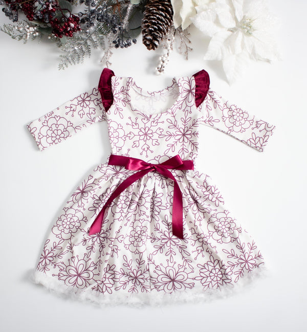 Snowflake Twirl Dress ©