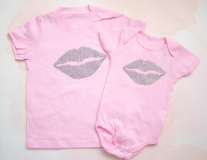 Cotton Candy Pink Lips Shirt