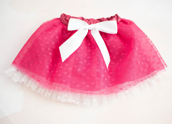 Heart Tulle Skirt for Babies and Toddlers
