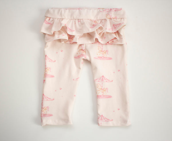 Carousel Ruffle Leggings