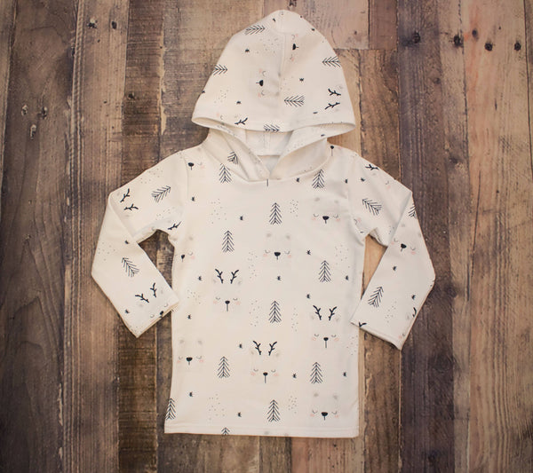 Winter Bear Hooded Shirt