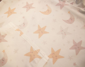 Moon and Stars Onesie Tie Set