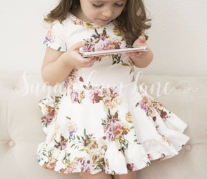 Penelope Ruffled Twirl Dress ©