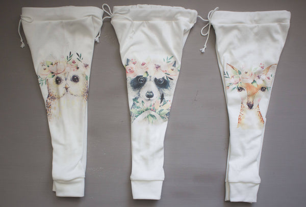 Spring Animal Joggers- Choose Your Animal