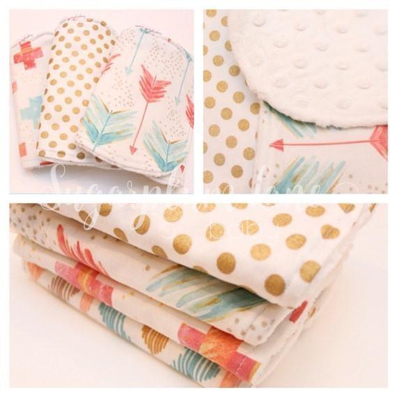 Burp Cloths OR Bibdana- Choose your Fabrics