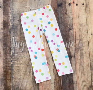 Polka Dot Leggings For Babies And Toddlers