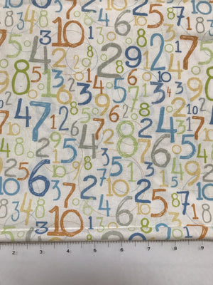 Number Fabric
