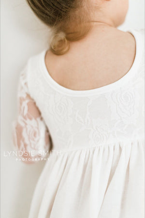 Lace Sweetheart Twirl Dress ©