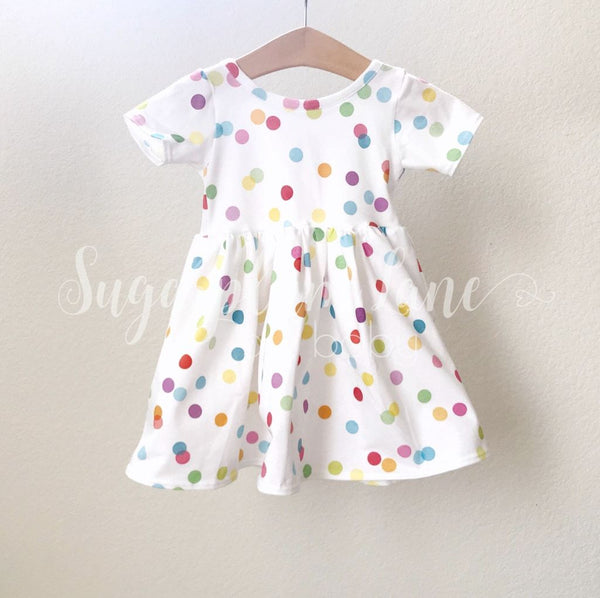 Polka Dot Twirl Dress © Rompers And Leotards