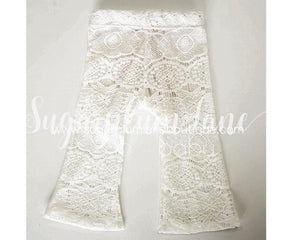 Crochet Lace Bell Bottoms for Babies and Toddlers