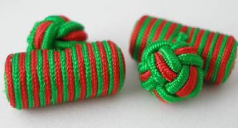 Green & Red Silk Barrels
