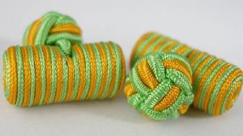 Green & Orange Silk Barrels