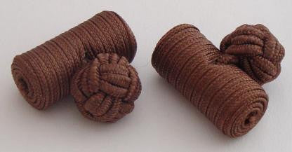Deep Brown Silk Barrels