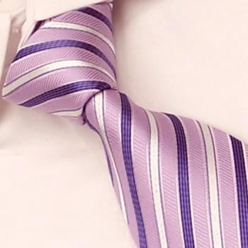 Pink, Purple & Silver Stripes