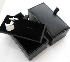 Silver Gift Box with Velvet Lining