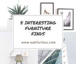 5 Interesting Furniture Finds
