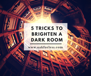 5 Tricks to Brighten a Dark Room