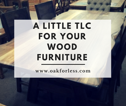 A Little TLC for Your Wood Furniture