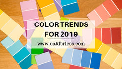 COLOR TRENDS FOR 2019