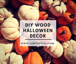 DIY Wood Halloween Decor