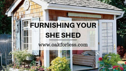 Furnishing Your She Shed