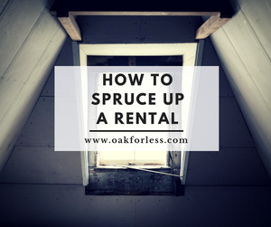 How to Spruce Up a Rental
