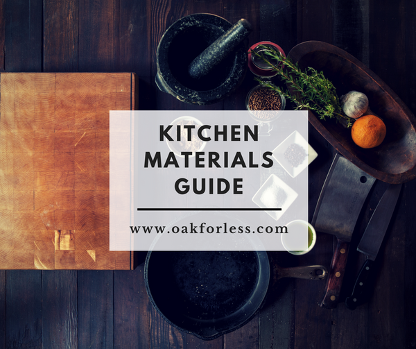 Kitchen Materials Guide