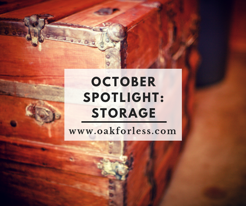 October Spotlight: Storage