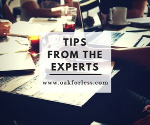 Tips from the Experts