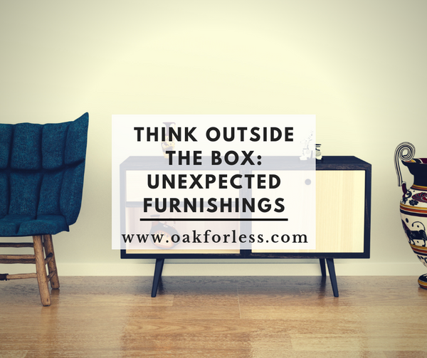 Think Outside The Box: Unexpected Furnishings