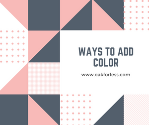Ways to Add Color
