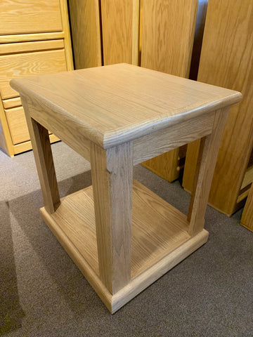 fd-2116-golden Contemporary Oak End Table Clearance