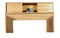 FD-3011 - Contemporary Oak Bookcase Headboard - Full size - Oak For Less® Furniture
