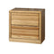 FD-3034 - Contemporary Oak 2 Drawer Nightstand - Oak For Less® Furniture