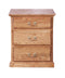 FD-3035T - Traditional Oak 3 Drawer Nightstand - Oak For Less® Furniture