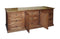 FD-3045M and FD-3061M - Mission Oak 9 Drawer Dresser (3 are hidden) with Mirror - Oak For Less® Furniture