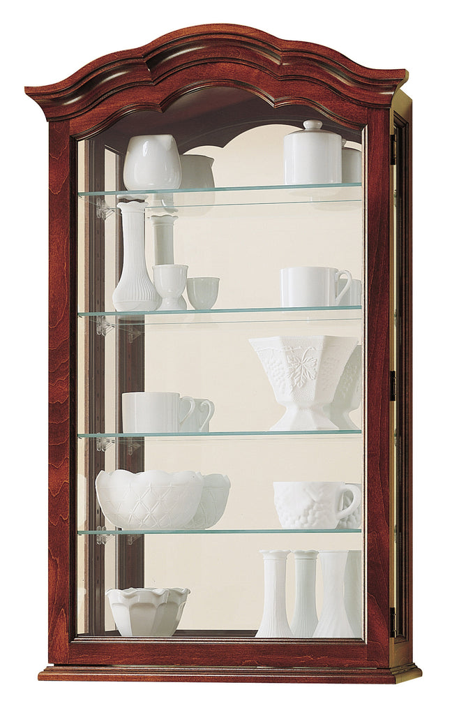 HM-685-100 - Vancouver I Wall Display - Oak For Less® Furniture