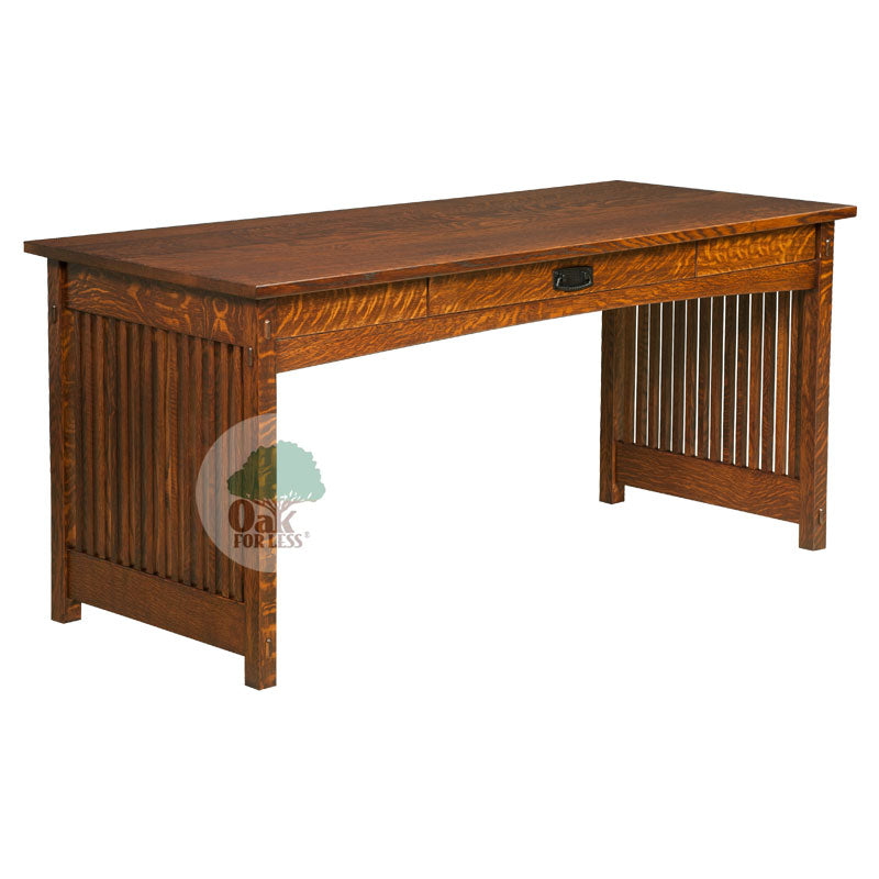 Amish made Mission Work Desk | Oak For Less ® - Oak For Less® Furniture