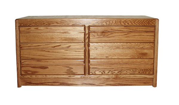 OD-O-C311 - Contemporary Oak 6 Drawer Dresser - Oak For Less® Furniture