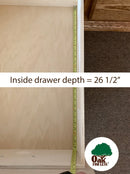 od-o-t456-drawer detail | Oak For Less® Furniture