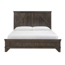 Amish made Cedar Lakes Solid Oak Bedroom Suite - Queen Size - Oak For Less® Furniture