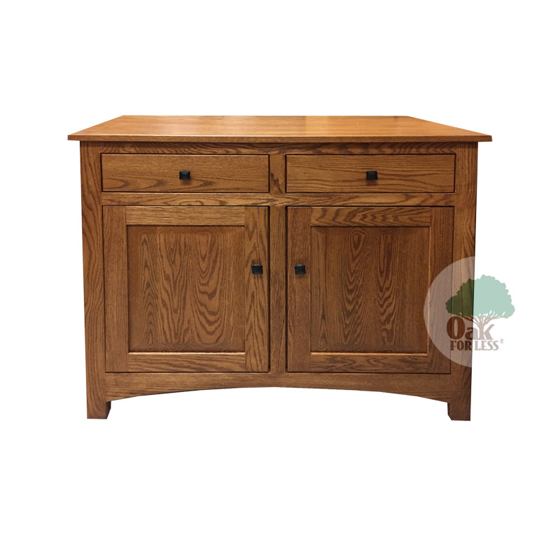 "Amish made Classic Oak Buffet 40"" w - Oak For Less® Furniture"