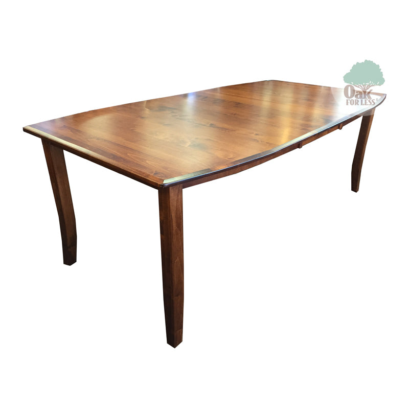 Amish made Hatfield Table in Solid Brown Maple | Oak For Less ® Furniture