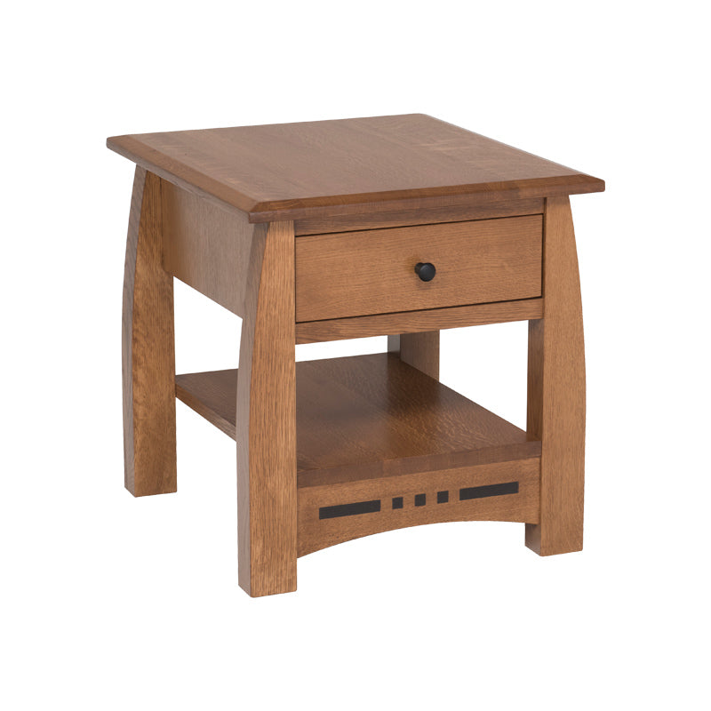 Amish Made Arts Crafts End Table Oak For Less