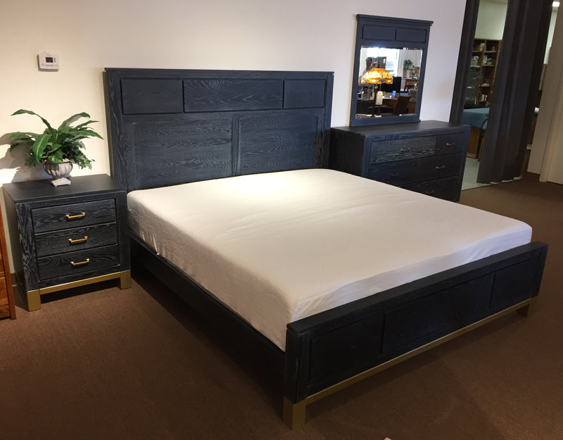 Amish made Keeton 4 Piece Bedroom Set on Clearance - King size ** SOLD ** - Oak For Less® Furniture